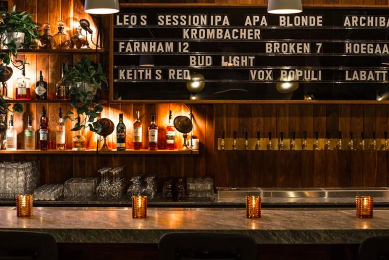 Leo's Taproom, Montreal, Montreal bar, Bar, Foodie, Foodie montreal, microbrewery, local bar montreal, fitzroy, madame bovary, Kampai