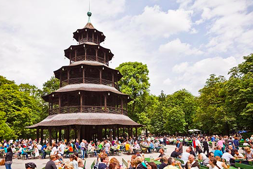 Munich, beer halls, beer gardens, germany, ultimate guide to beer gardens and beer halls in munich, munich foodie, chinese tower site
