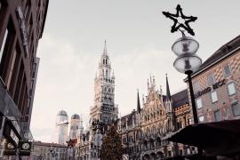 Marienplatz, Deutschland, beer halls, beer gardens, munchen