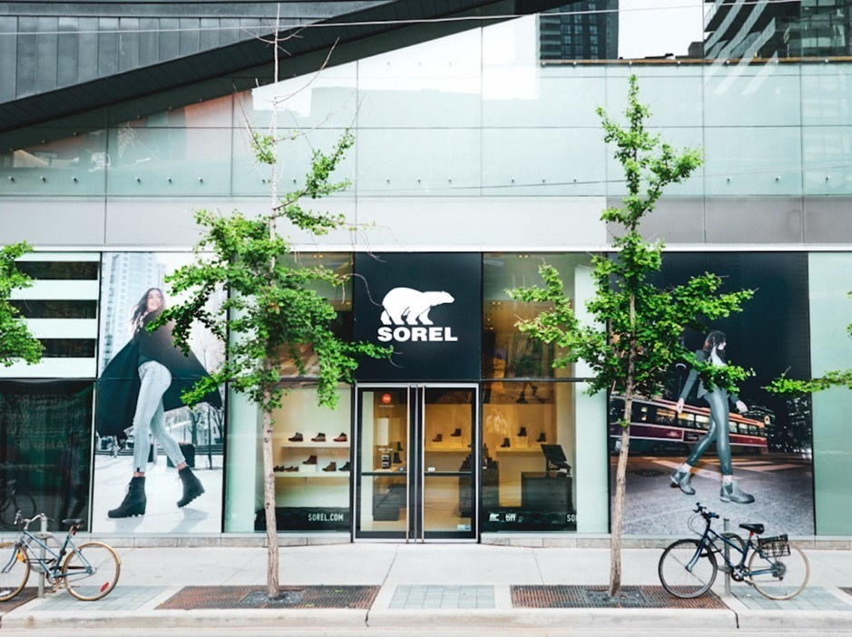Sorel is popping up on King St West for TIFF
