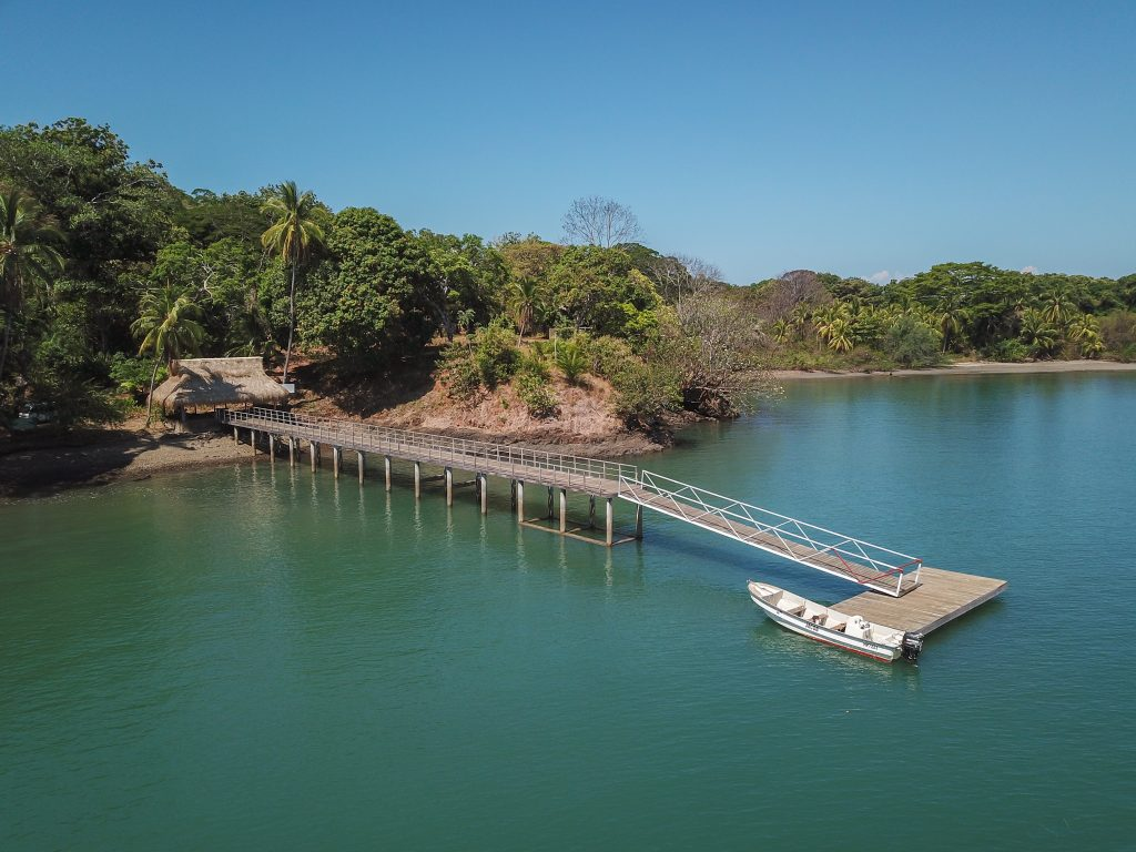 Book your stay at this eco-friendly resort on a private island