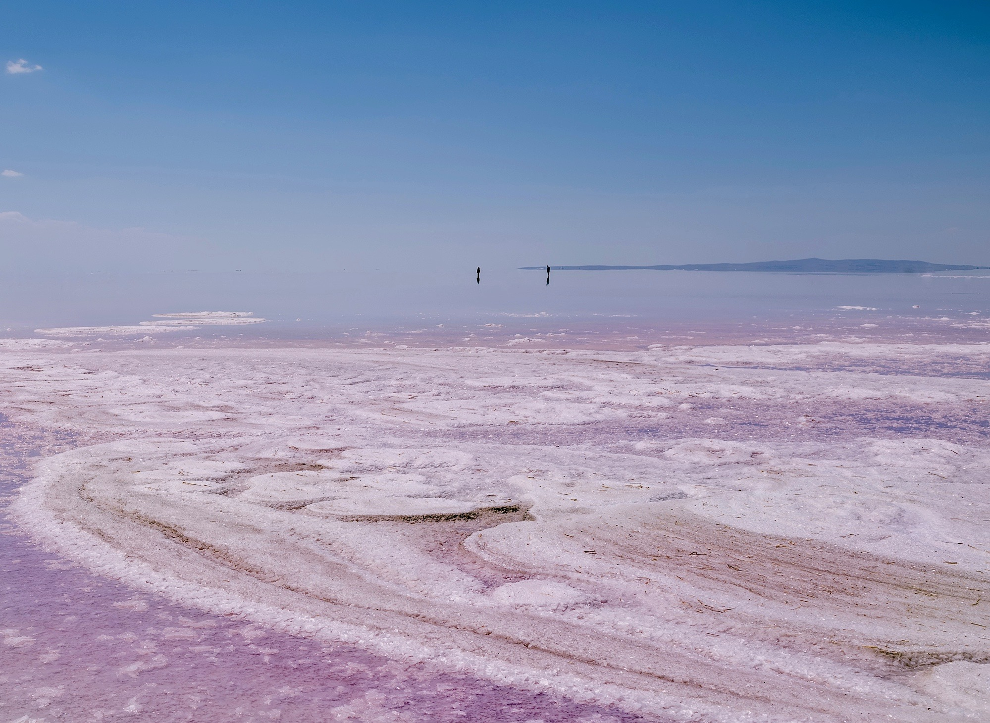 Tuz Gölü – Pink Salt Lake, Turkey