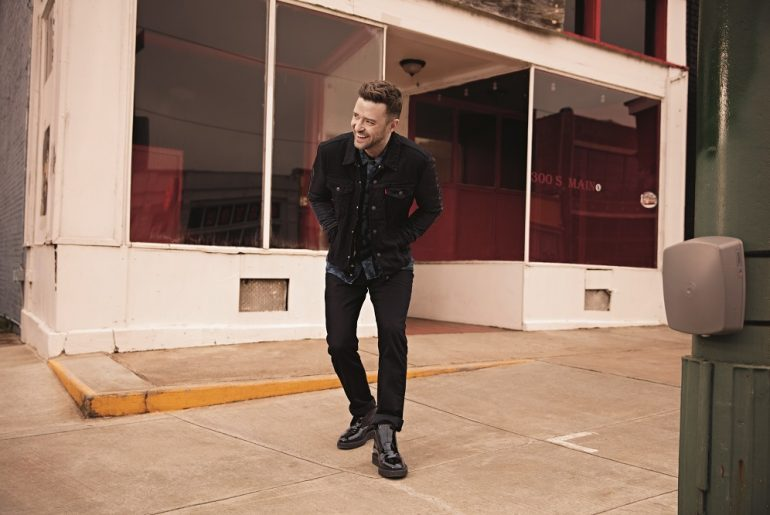 Justin Timberlake Levi's Levis