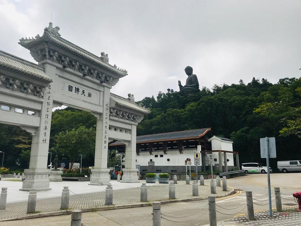 Ngong Ping Village Big Buddha Hong Kong