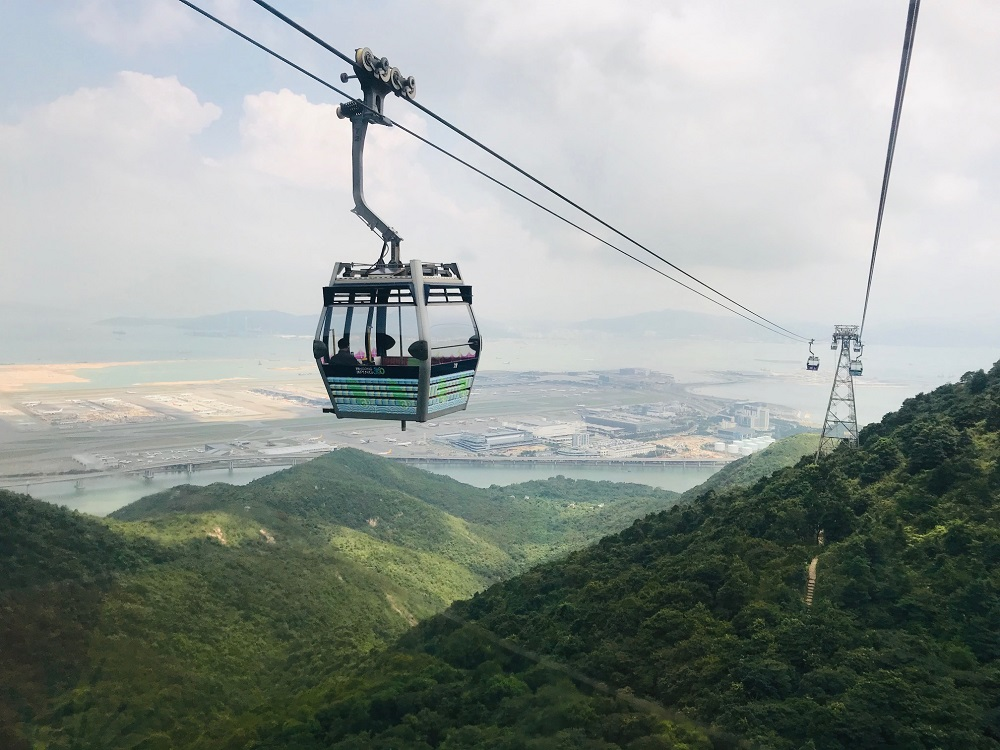 Ngong Ping Cable Car Hong Kong