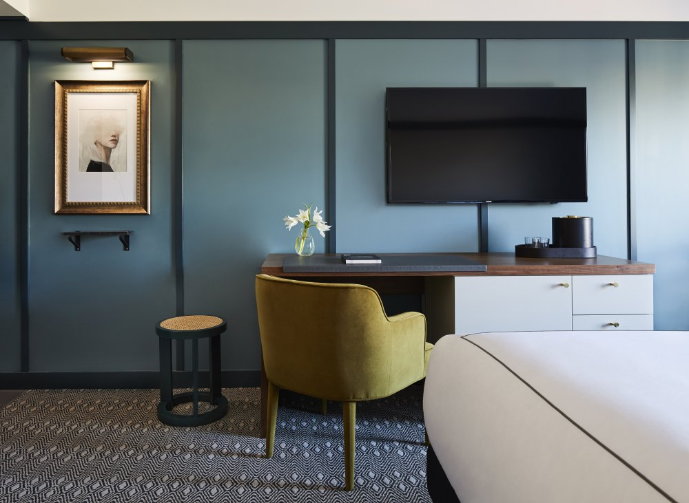 Spend Your Day Working From the Kimpton Saint George Hotel