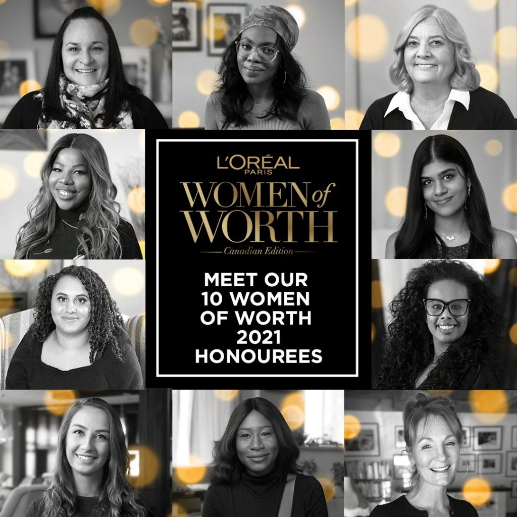L'Oreal Announces the 5th Annual Women of Worth Honourees